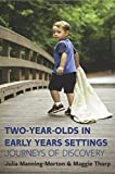 img - for Two-Year-Olds In Early Years Settings: Journeys Of Discovery by Manning-Morton Julia (2015-03-01) Paperback book / textbook / text book