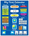 Magnetic My First Learning Calendar -…