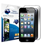 Tech Armor Mirror Screen Protector with Lifetime Replacement Warranty for Apple iPhone 5 [3-Pack]