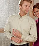 UltraClub Mens Whisper Twill Shirt. 8975