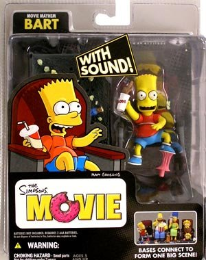 Picture of McFarlane the simpsons movie mayhem bart Figure (B001BVNSQA) (McFarlane Action Figures)