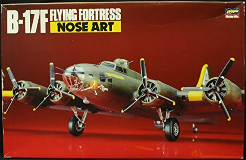 Hasegawa 1:72 B-17F Flying Fortress Nose Art Model Kit #51518 (SP18)