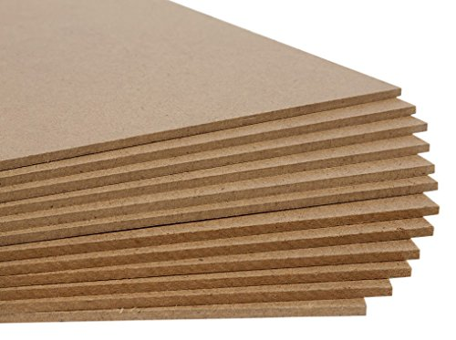 Jack Richeson Medium Density Untempered Hardboard(12 pack) (Mdf Panel compare prices)