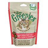 Greenies Feline, Cat Treats 3 oz (85 g)Salmon Flavor 3 pack
