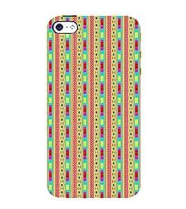 ifasho Designer Phone Back Case Cover Apple iPhone 5 ( Beautiful Lipstick Cute Girl )