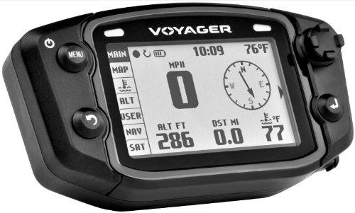 Trail Tech 912-405 Voyager Stealth Black Moto-GPS Computer