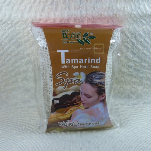 Bio Way Tamarind With Spa Herb Soap 2.64 Oz (130 Gm )