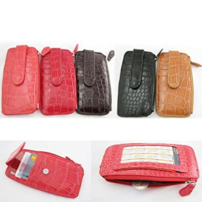 Credit Card Coin Purse Wallet ID Holder Leather Small Pouch Bag Gift Ladies Girl