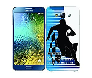 Galaxy Printed 1662 Extreme Sports rugby Hard Cover for samsung A7