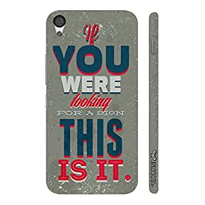 One Plus X This Is It! designer mobile hard shell case by Enthopia
