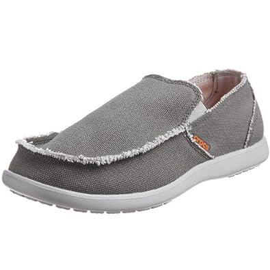 Crocs Santa Cruz, Men's Loafers, Light Grey/Charcoal, 6 UK
