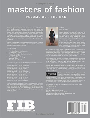 MASTERS OF FASHION Vol 36 The Bag: The Legend of the Designer Handbag: Volume 36 (Fashion Industry Broadcast)