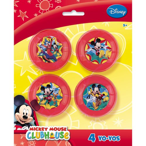 Mickey Mouse Mickey Mouse Yo Yos, 4 Count