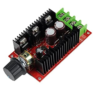 VicTec DC Motor Speed Control PWM HHO RC Controller 12V 24V 48V 2000W MAX 40A from VicTec