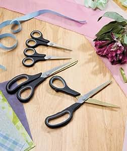 Set of 4 Titanium Scissors
