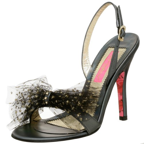 Endless.com: Betsey Johnson Women's Charline Slingback Sandal: Categories - Free Overnight Shipping & Return Shipping