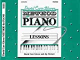 51544jeD9yL. SL160  David Carr Glover Method for Piano: Lessons, Primer