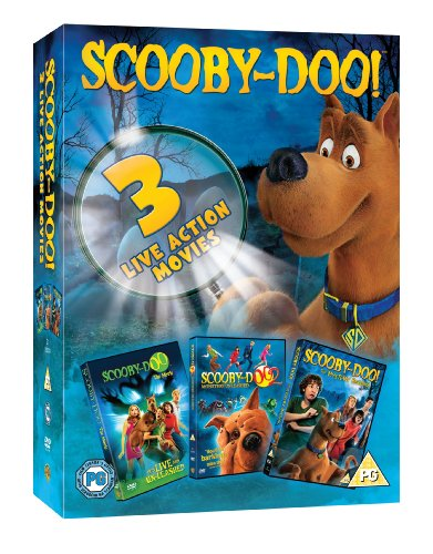 Scooby-Doo Live Action Movie Triple Pack [DVD]