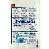 ナイロンポリ 新Lタイプ規格袋 No.7 (100枚) 巾150×長さ250㎜
