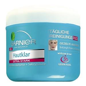 Garnier Hautklar tägliche Reinigungspads, 56 Stück