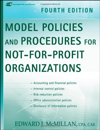 Model Policies and Procedures for Not-for-Profit...