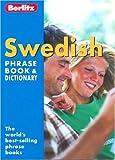 echange, troc Berlitz - Berlitz Swedish Phrase Book & Dictionary