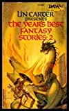 img - for The Year's Best Fantasy Stories #2 [DAW 205] book / textbook / text book