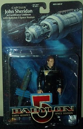 Babylon 5 Captain Sheridan Action Figure - 1