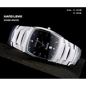 Handlove Steel Embossed Accent s Watch