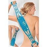 Doppelseitige Rückenbürste & Massageband,...
