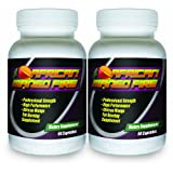 African Mango FIRE (2 Bottles) The #1 Rated African Mango Fat Burning Supplement w/ Garcinia Cambogia, Best All-Natural Weight Loss Pillsby African Mango Fire...
