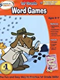 Hooked on Phonics First Grade Word Games Workbooks