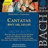 Edition Bachakademie Vol. 44 (Geistliche Kantaten BWV 140, 143-145)