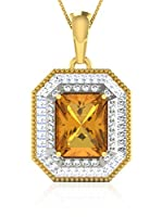 Art of Diamond Conjunto de cadena y colgante Oro Amarillo