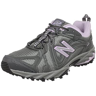 New Balance Women's WT573 Trail And Off Road Shoe,Grey/Pink,8.5 D US