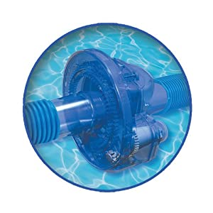 Twister pool hose rotator for suction side for Garden hose pool vacuum