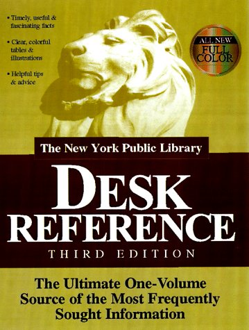 The New York Public Library Desk Reference, Macmillan Publishing