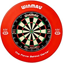 WINMAU RED DARTBOARD SURROUND RUBBE RRING