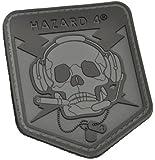 Operator Skull(TM) Rubber Velcro Patch by Hazard 4(R)