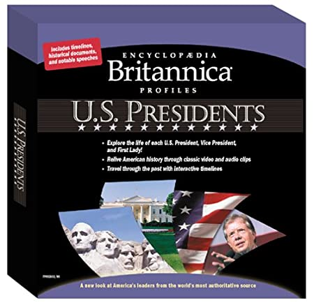 Encylopedia Britannica Profiles: U.S. Presidents (Jewel Case)