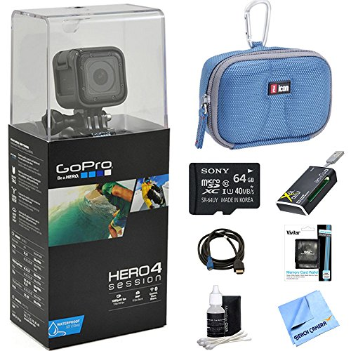 GoPro-HERO-Session-Action-Camera-Ready-for-Adventure-Bundle-Includes-GoPro-Hero-4-64GB-Micro-SDXC-Memory-Card-Case-Card-Reader-Memory-Card-Wallet-HDMI-Lens-Cleaning-Kit-and-Cleaning-Cloth