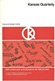 img - for Kansas Quarterly, The Language and Dialects of the Plains, Volume 22, Number 4, Fall 1990 book / textbook / text book