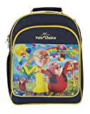 Right Choice Motu Patlu nursery,girls,lkg,ukg,kids,school bag,navy blue,yellow(RCS.4049)