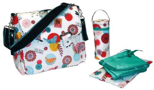 Kalencom Ozz Coated New Flap Bag, Sayonara
