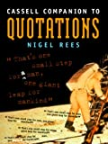 Cassell Companion To Quotations (030435192X) by Rees, Nigel