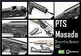 MAGPUL PTS 電動ガン MASADA ストリームラインバージョン BK 【スプリング交換弾速調整済】 《対象年齢18歳以上》