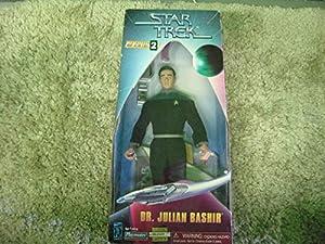 "9"" Dr. Julian Bashir Action Figure - Warp Factor Series 2 - Star Trek: Deep Space Nine"