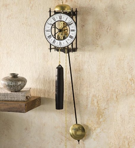 Hermle® Iron Skeleton Wall Clock hermle 22902 q10131 hermle