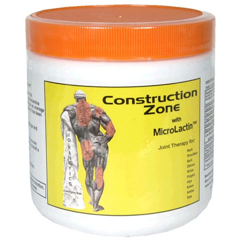 Buy Bio-Kinetics Corporation Construction Zone with MicroLactin (Construction Zone, Health & Personal Care, Products, Health Care, Pain Relievers, Rubs & Ointments)