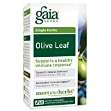 Gaia Herbs Olive Leaf, 60 Liquid Phyto-Capsules